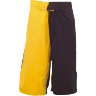 CW-1602 Yellow And Black Boxing Shorts