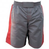 CW-1603 Grey And Red Boxing Shorts