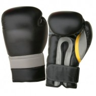 CW-602 Black Boxing Gloves