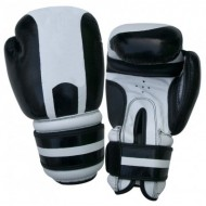 CW-604 Grey And Black Boxing Gloves